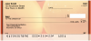 Colorful Gold Lights Personal Checks | ZABS-69