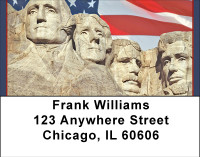 Mount Rushmore Address Labels | LBBBC-83