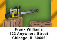 Behind The Woodpile Address Labels