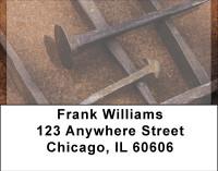 Vintage Tools Address Labels
