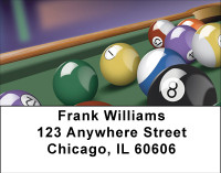 Let's Play Pool Address Labels