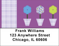 Fun With Fabric Address Labels