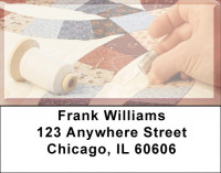 Old Fashioned Quilting Address Labels