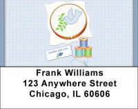 Stitched With Love Address Labels