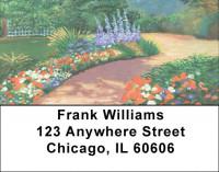 Manicured Gardens Address Labels