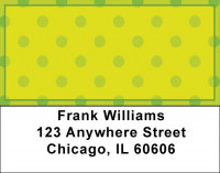 Colorful Plaids And Dots Address Labels | LBQBR-41