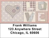 Love Quilt Address Labels