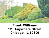 Dreamy Topiary Gardens Address Labels