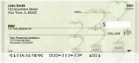 Green Topiary Treasures Personal Checks | QBR-17