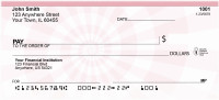 Pink Perspective Personal Checks | QBR-79
