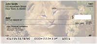 Big Cat Babies Personal Checks | ZANI-15