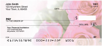 Pink Roses Personal Checks | ZFLO-40