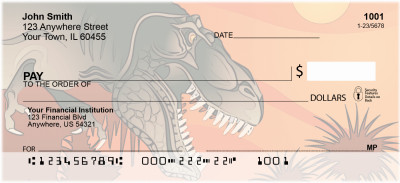 Dinosaur Daze Personal Checks | BBH-88