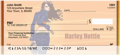Harley Hottie Personal Checks | BCE-72