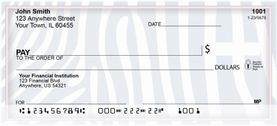 Soft Animal Prints Personal Checks | BCE-73