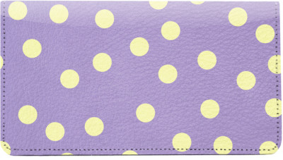 Dots Leather Checkbook Cover | CDP-GEO01