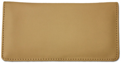 Cream Smooth Leather Checkbook Cover | CLP-CRM01