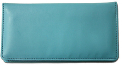 Teal Smooth Leather Checkbook Cover  | CLP-TEA01