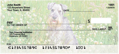 Schnauzers Personal Checks | DOG-19