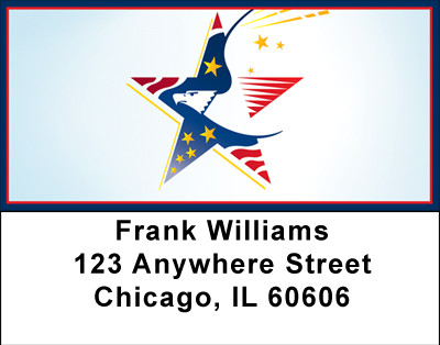 Symbols Of Freedom Address Labels | LBBBA-41