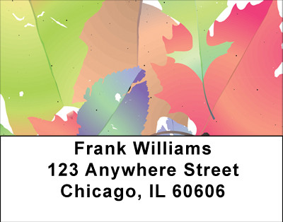 Colors Of Fall Address Labels | LBBBA-47