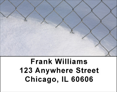 Snowy Look At Winter Address Labels | LBBBA-55