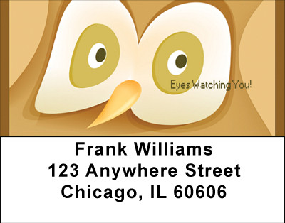 Eyes For You Address Labels | LBBBB-75