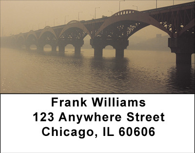 Scenic Bridges Address Labels | LBBBD-61