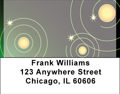 Star Travel Address Labels | LBBBG-10