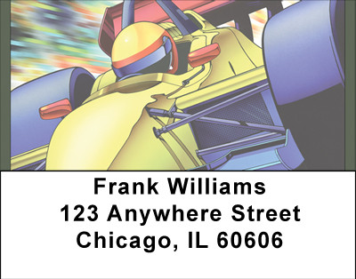 Formula 1 Racing Address Labels | LBBBG-92