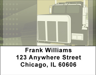 Trucking Composits Address Labels | LBBBH-74