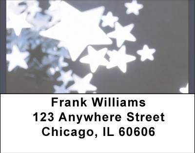 Star-Studded Nights Address Labels | LBBBH-84