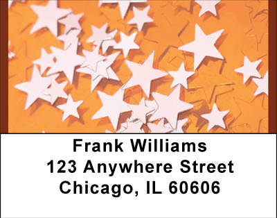 Color Me Stars Address Labels | LBBBH-85