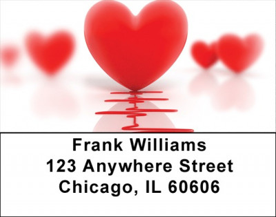 Heart Health Address Labels | LBQBE-30