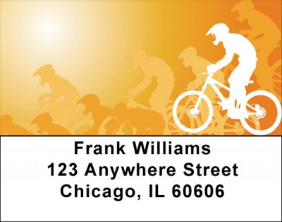 Biker Madness Address Labels | LBQBP-86