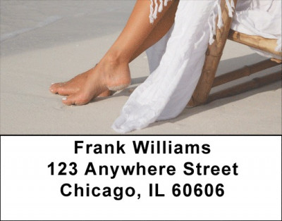 Beach Scenery Address Labels | LBZSCE-19