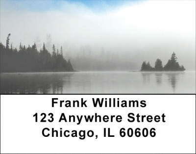 Foggy Lake Address Labels | LBZSCE-46