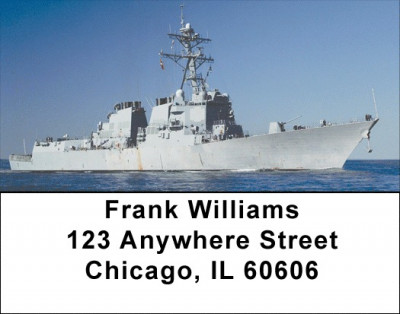 In The Navy Address Labels | LBZTRA-29