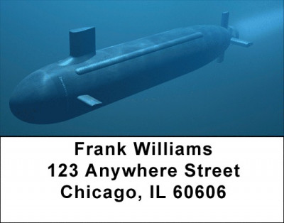 Submarines Address Labels | LBZTRA-32