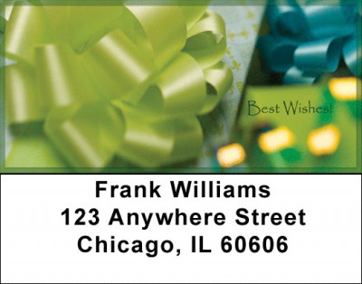 Best Wishes Address Labels | LBZXMS-23