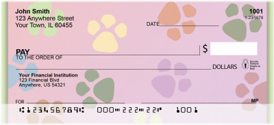 Puppy Paws Personal Checks | QBM-62