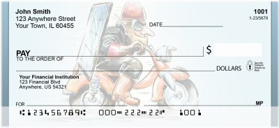 Biker Energy Personal Checks | QBQ-71