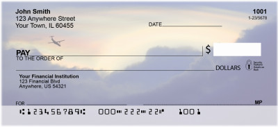 Commercial Airlines Personal Checks | QBQ-74