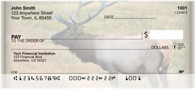 Elk Personal Checks | ZANI-23