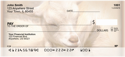 Goats Personal Checks | ZANI-28