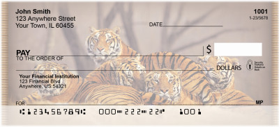 Bengal Tigers Personal Checks | ZANI-46