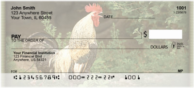 Chickens Personal Checks | ZANI-53