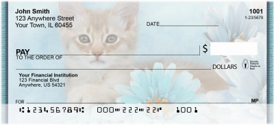 House Cats, the Kittens Personal Checks | ZANI-87