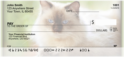 Persian Pedigrees Personal Checks | ZANI-88