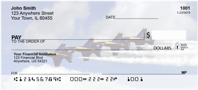 Navy Stunt Planes Personal Checks | ZTRA-30